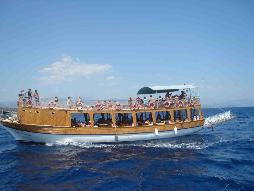 tekne ile ada turu