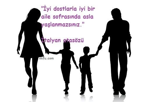 Aile ile ilgili Sözler – Aile için sözler