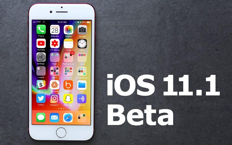 iOS 11.1 Beta 2 İle Uygulama Geçişi