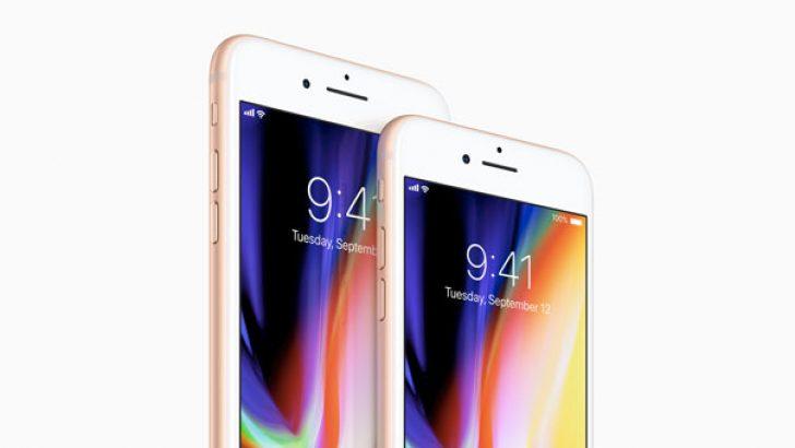 iPhone 8, iPhone 7'yi tahtından edemedi