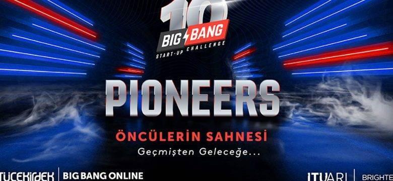 Bu sene 10. yılını kutlayan Big Bang'de yine öncü girişimler sahne alacak