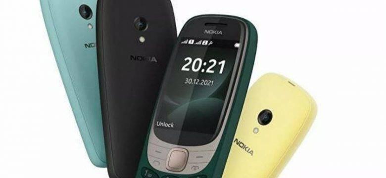 Nokia, 6310 modelini klasik yılan oyunu ile yeniden piyasaya sürdü